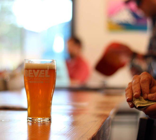 Beer in the Bevel brewpub